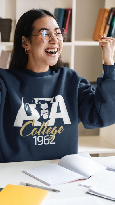 ata koleji sıfır yaka sweatshirt
