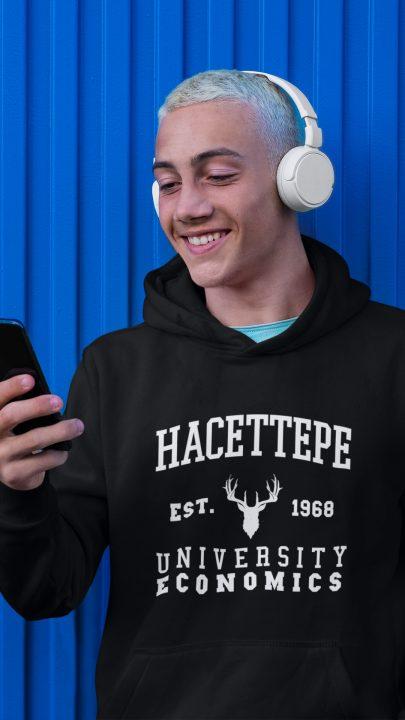 hacettepe üniversitesi ekonomi bölümü hoodie
